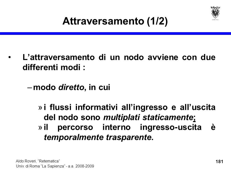 181 Aldo Roveri, Retematica Univ. di Roma La Sapienza - a.a.