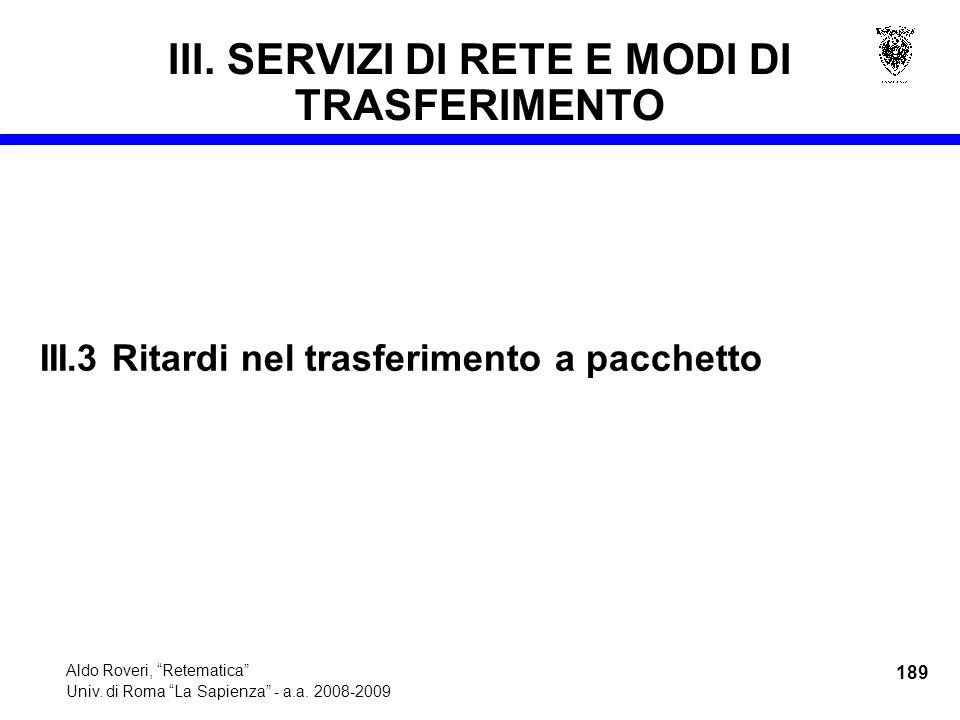 189 Aldo Roveri, Retematica Univ. di Roma La Sapienza - a.a.