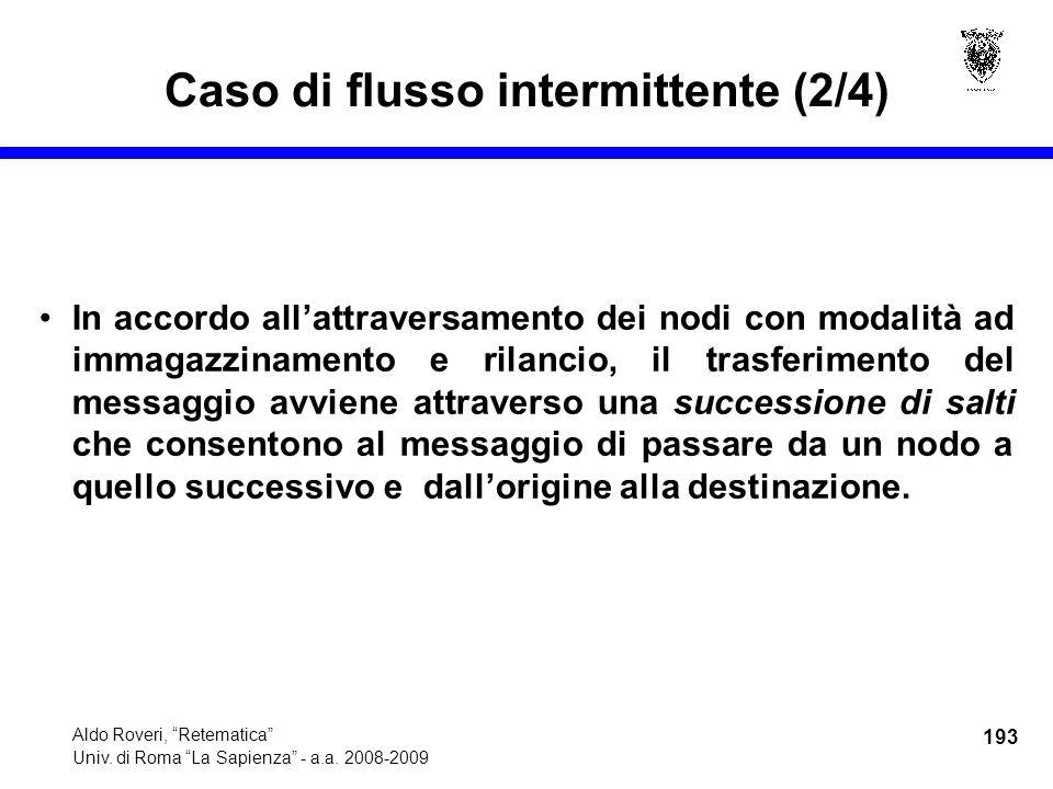193 Aldo Roveri, Retematica Univ. di Roma La Sapienza - a.a.