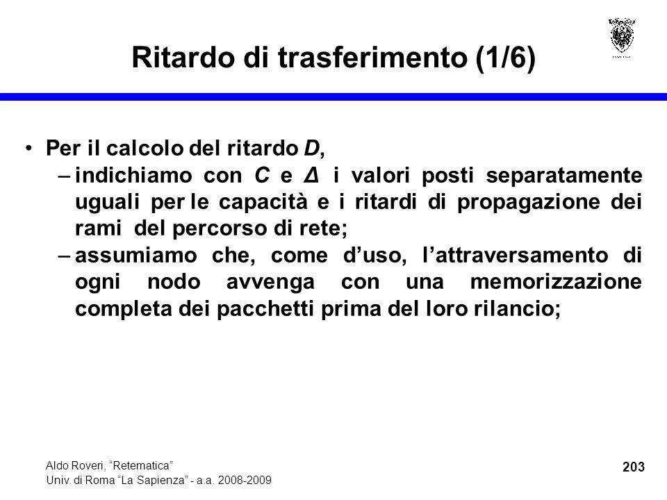 203 Aldo Roveri, Retematica Univ. di Roma La Sapienza - a.a.