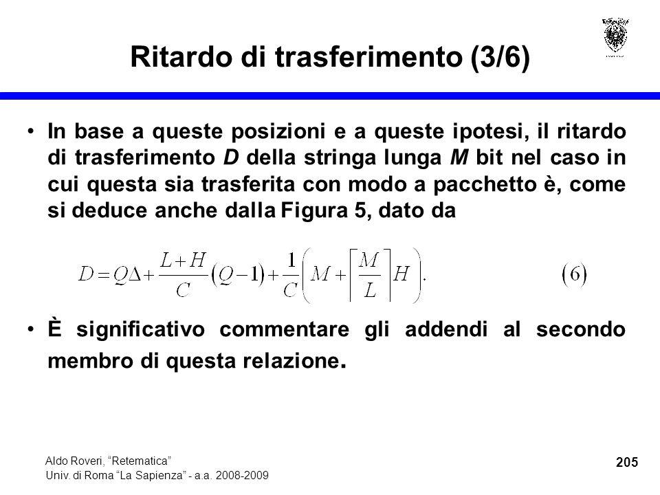 205 Aldo Roveri, Retematica Univ. di Roma La Sapienza - a.a.