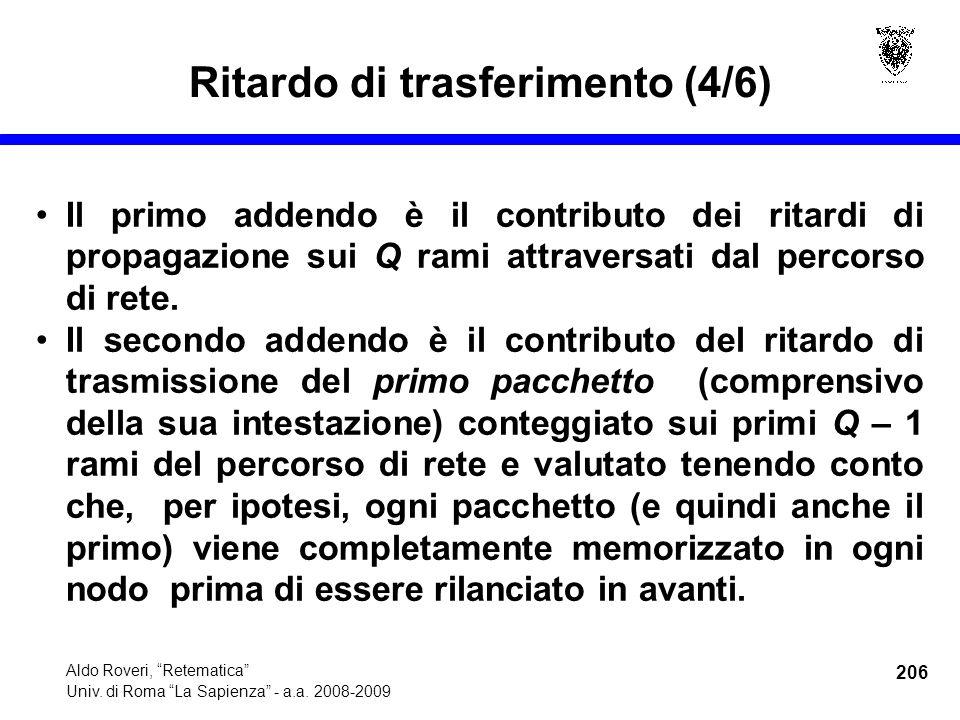 206 Aldo Roveri, Retematica Univ. di Roma La Sapienza - a.a.