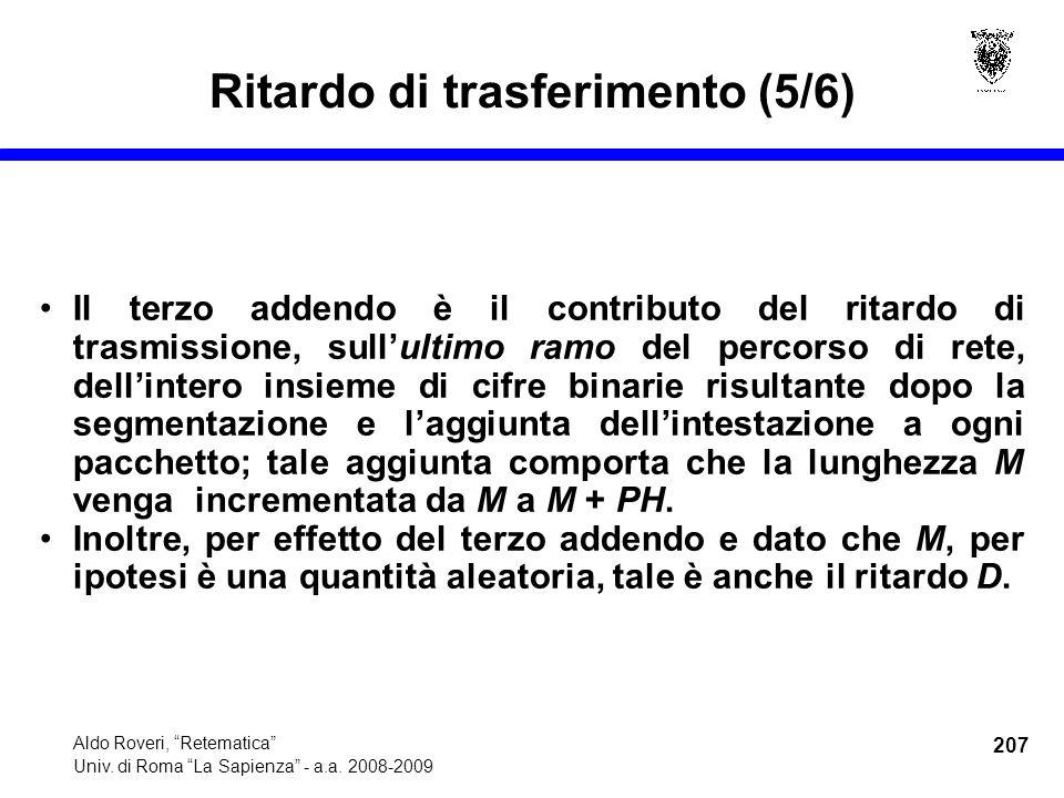 207 Aldo Roveri, Retematica Univ. di Roma La Sapienza - a.a.