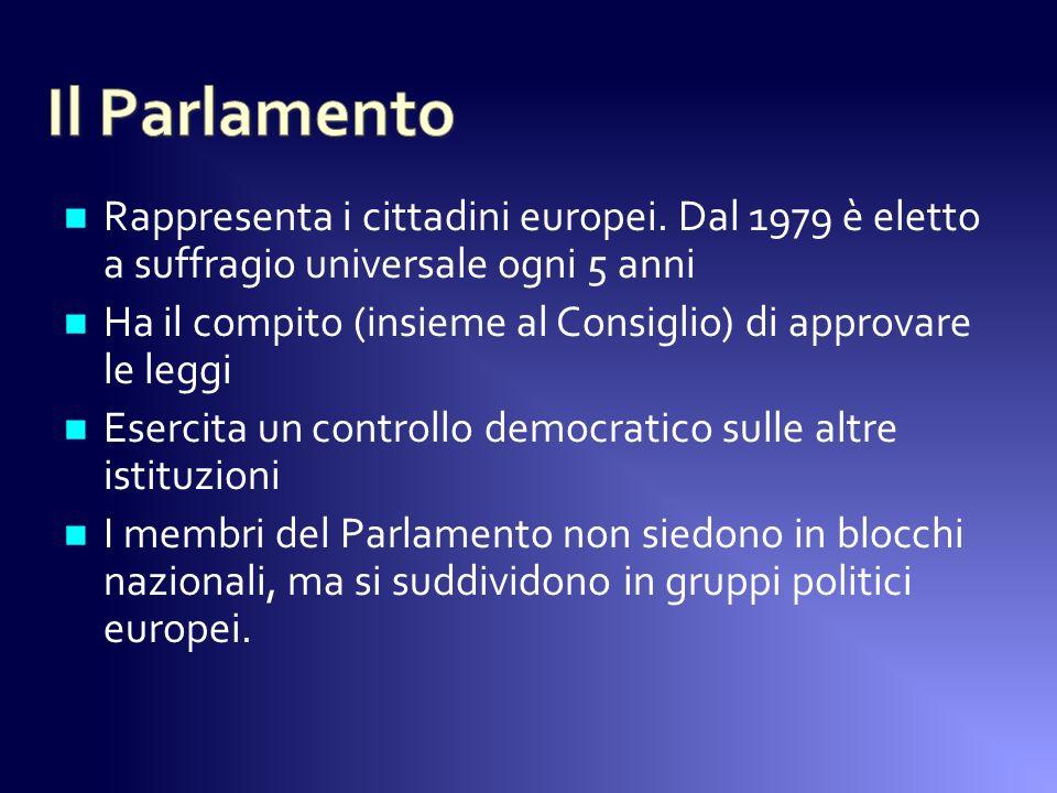 Rappresenta i cittadini europei.