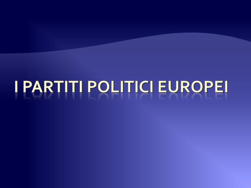 Al momento non esistono partiti politici europei in senso stretto.