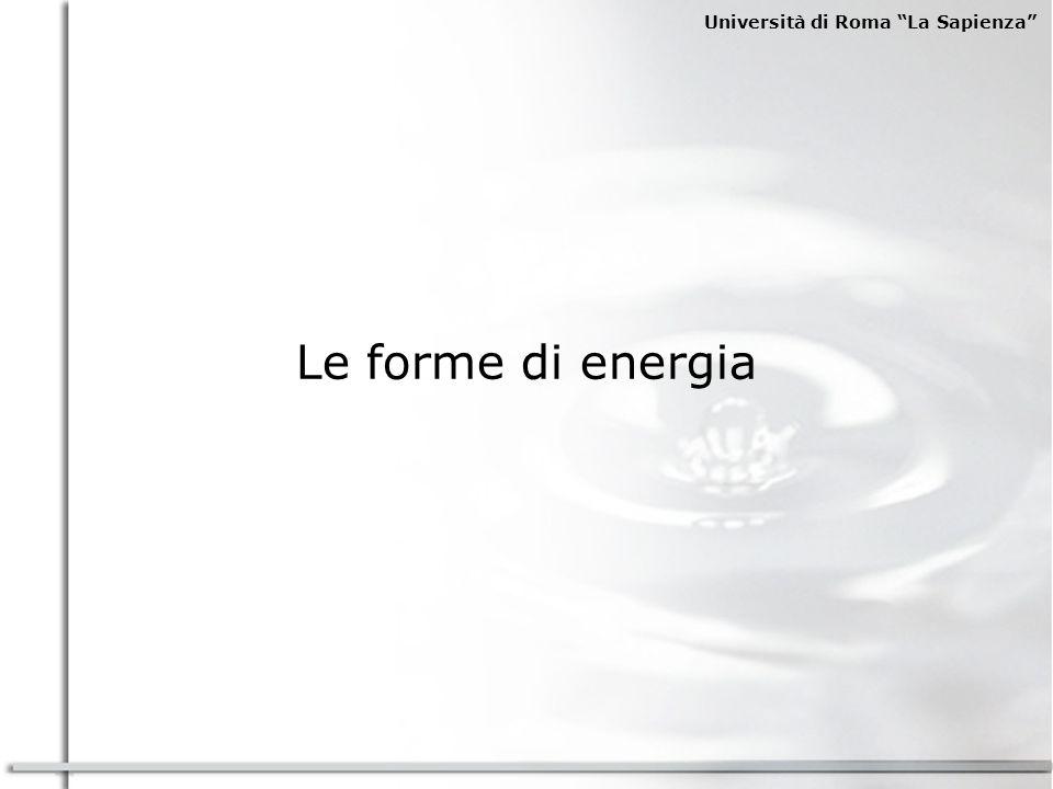 Università di Roma La Sapienza Source: BP Statistical Review of World Energy 2003 Consumi energetici pro-capite (tep/persona) The cycle of coal