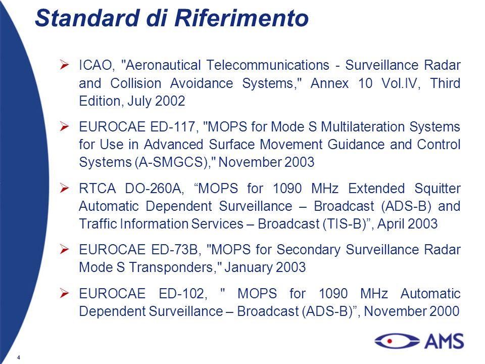 4 Standard di Riferimento ICAO,