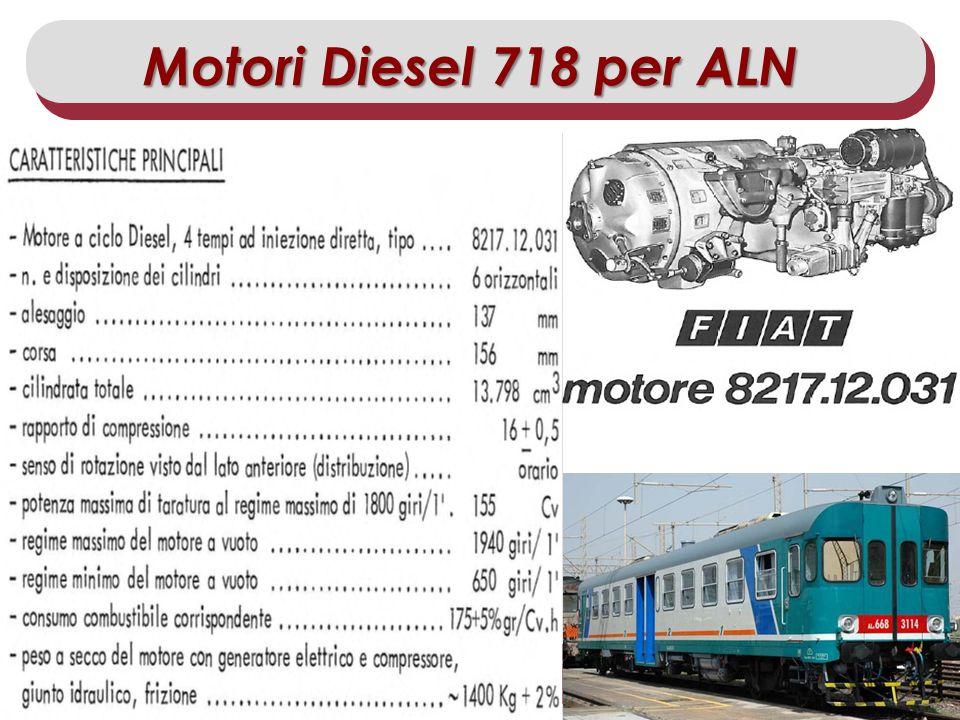 Master IISF 2011/12 – Modulo Scambio delle Esperienze di Stage Allievo: Dario DAntrassi Motori Diesel 718 per ALN