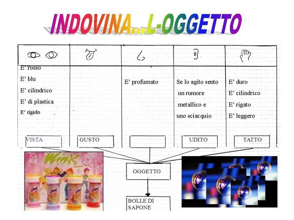 VISTAGUSTOUDITOTATTO OGGETTO BOLLE DI SAPONE