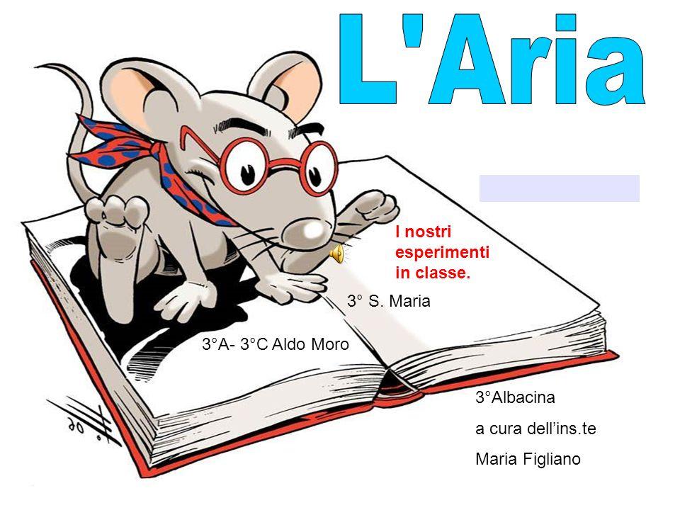 3°A- 3°C Aldo Moro 3° S. Maria 3°Albacina a cura dellins.te Maria Figliano I nostri esperimenti in classe.