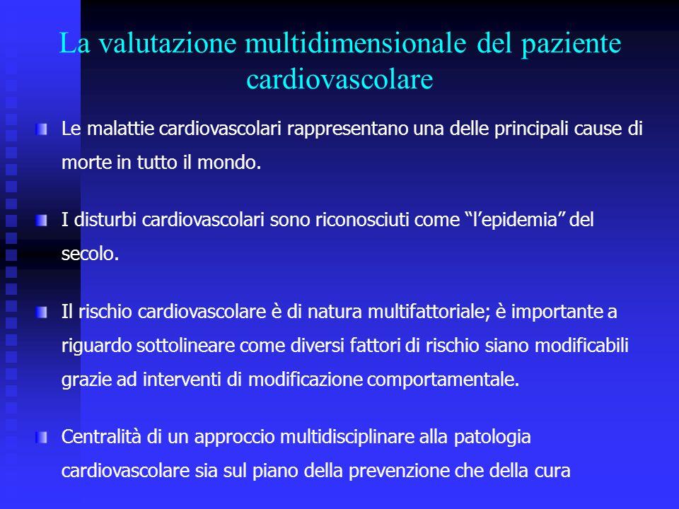 Le malattie cardiovascolari rappresentano una delle principali cause di morte in tutto il mondo. I disturbi cardiovascolari sono riconosciuti come lep