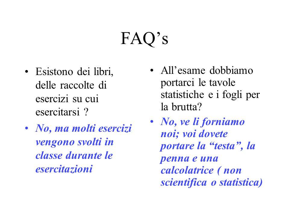 FAQs Esistono dei libri, delle raccolte di esercizi su cui esercitarsi .