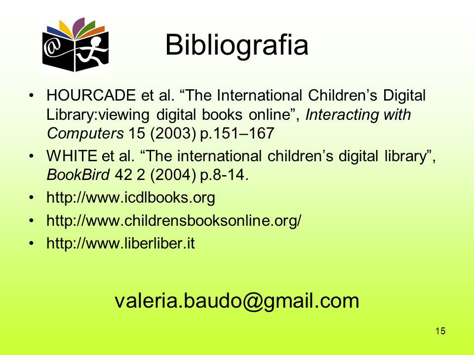 15 Bibliografia HOURCADE et al.