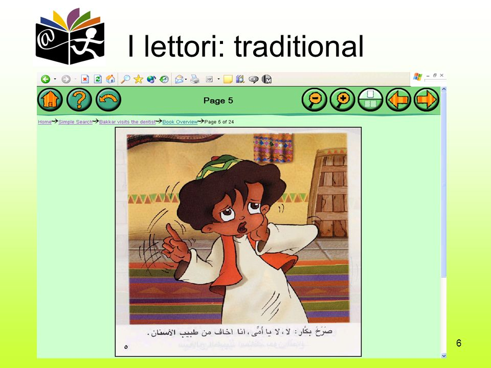 6 I lettori: traditional