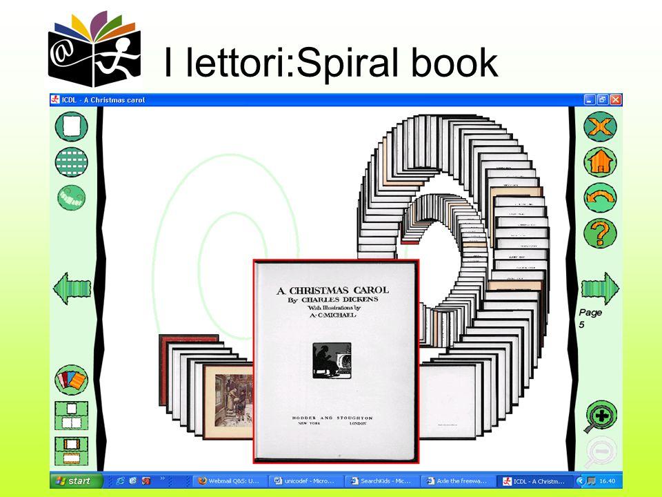 8 I lettori:Spiral book