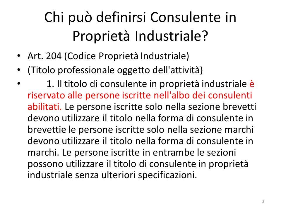 LOrdine dei Consulenti in Proprietà Industriale (OCPI).