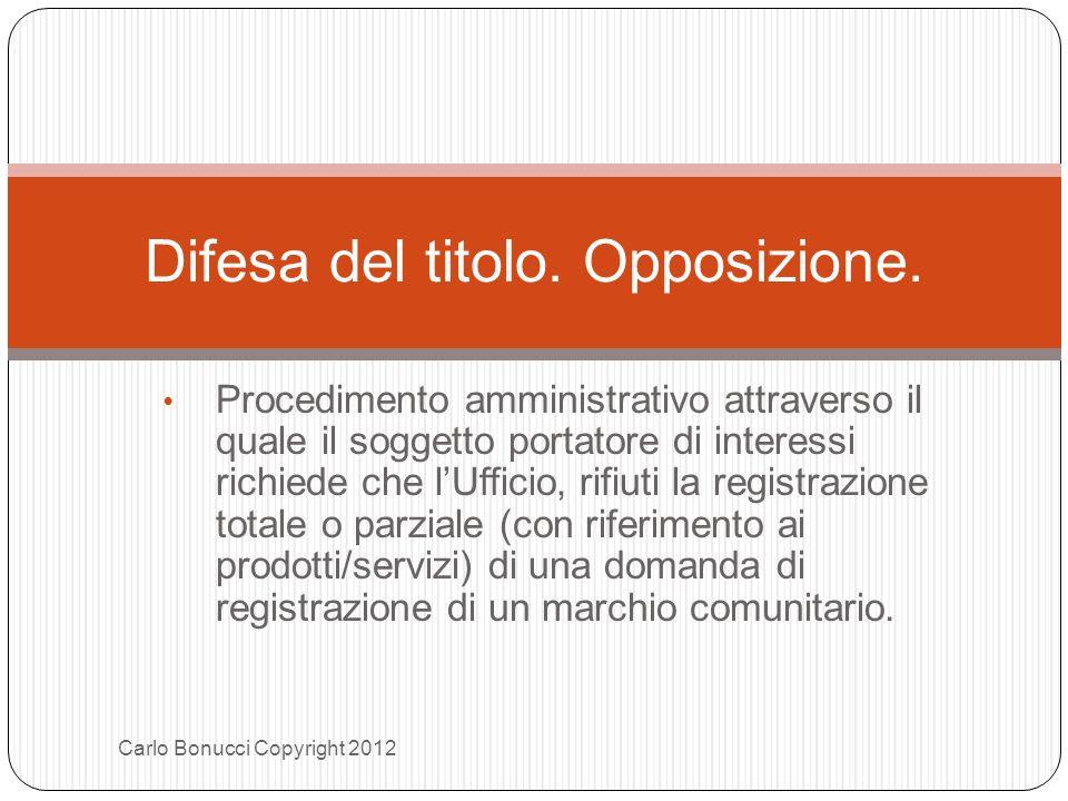 Procedimento amministrativo attraverso il quale il soggetto portatore di interessi richiede che lUfficio, rifiuti la registrazione totale o parziale (