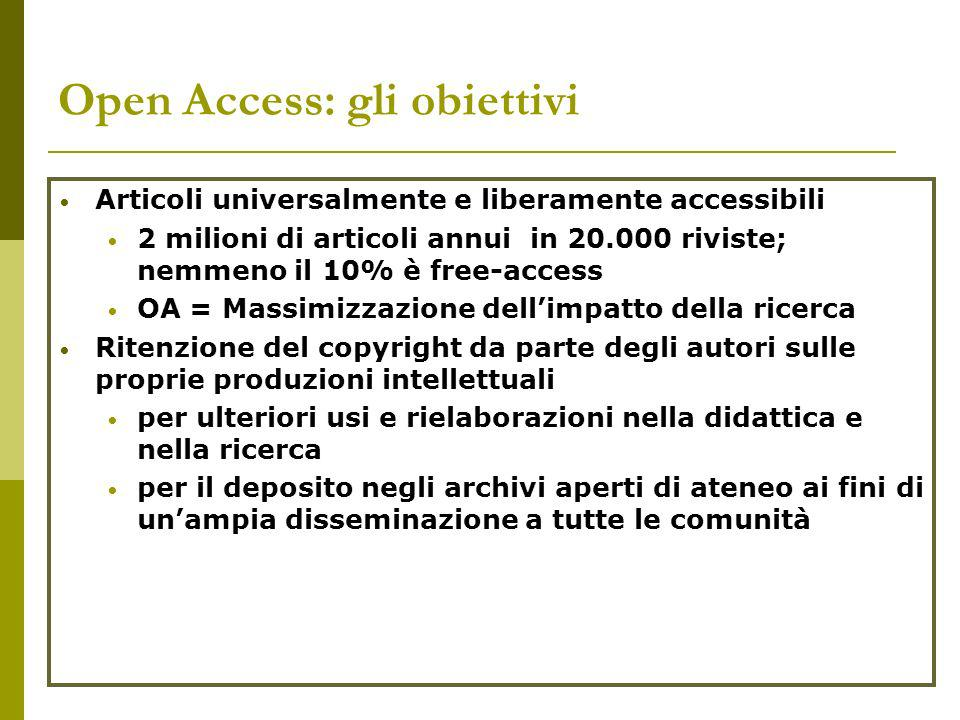 Open Access in Italy