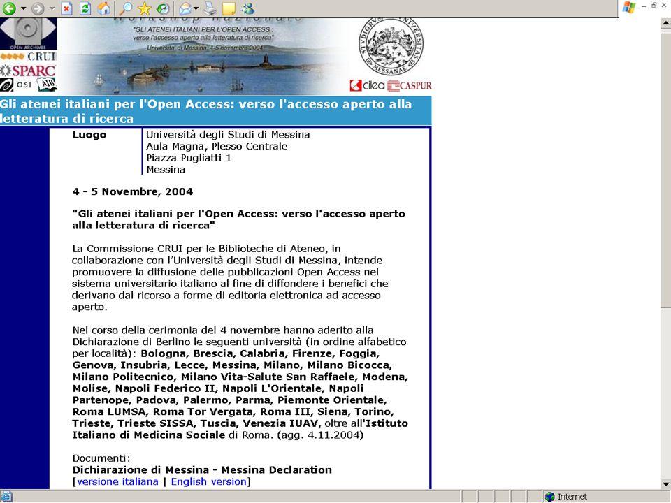 Definizione di Open Access