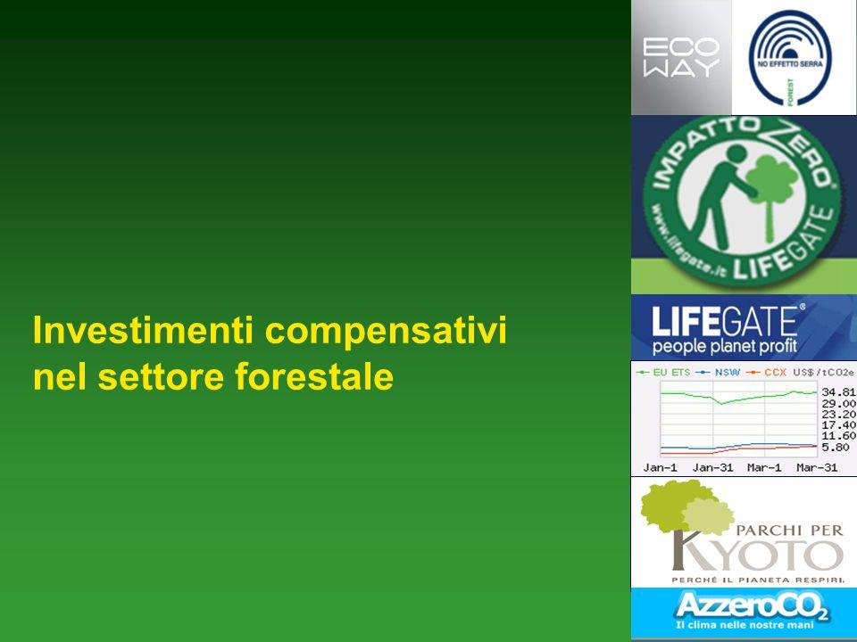 Investimenti compensativi nel settore forestale
