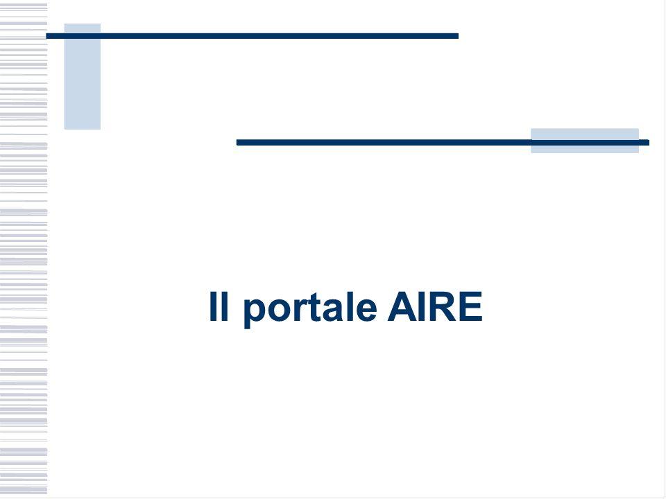 Il portale AIRE