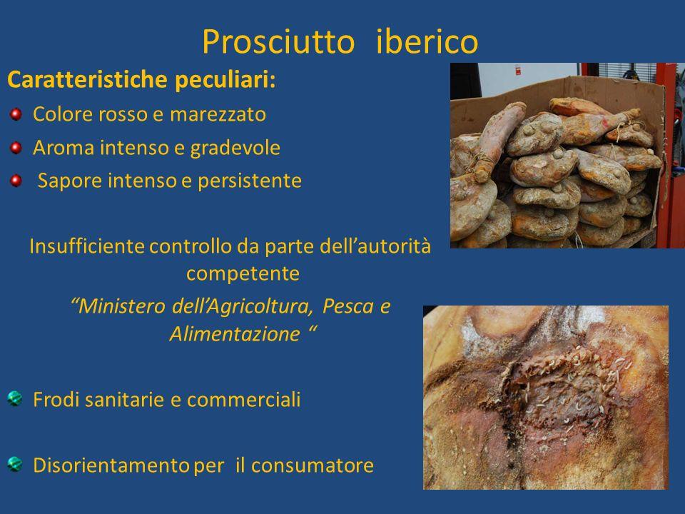 Scopo della tesi Apportare maggiore informazione al consumatore, attraverso la descrizione del prosciutto iberico.