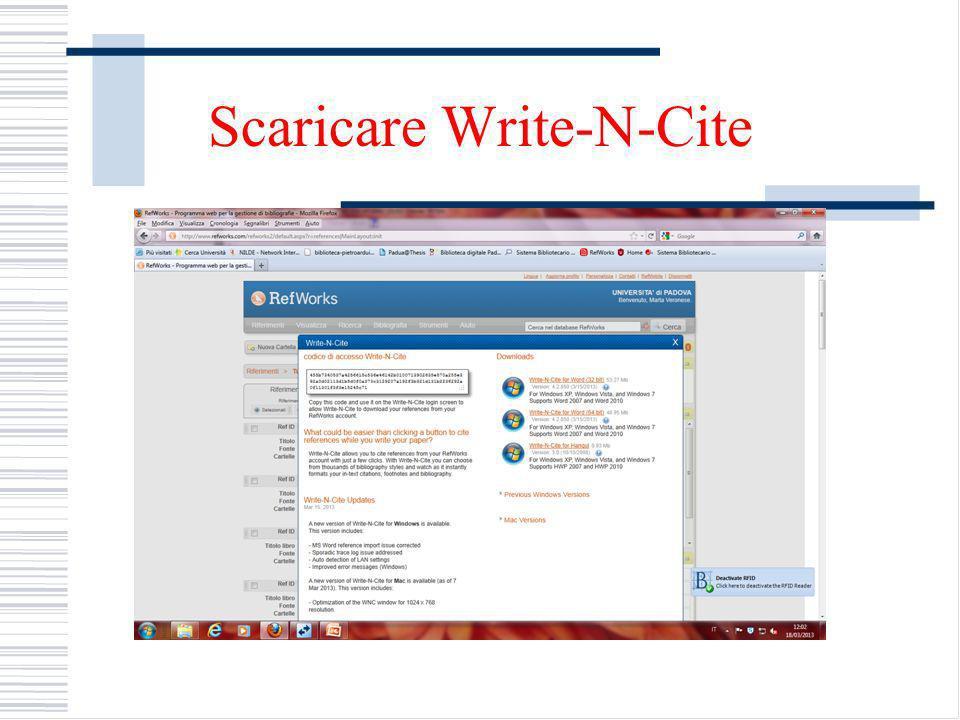 Scaricare Write-N-Cite