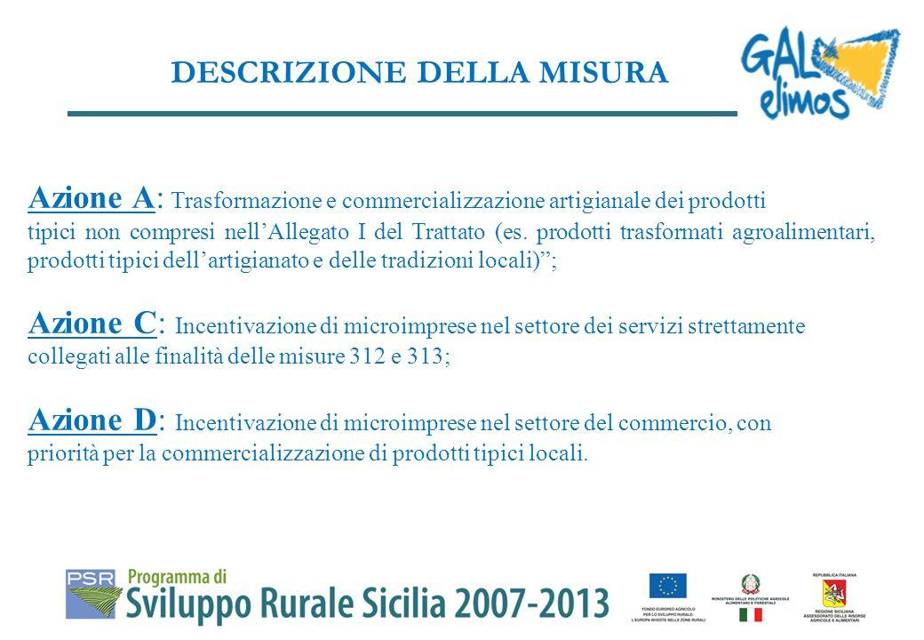 Diversificare leconomia delle zone rurali, creando e sviluppando attività economiche.