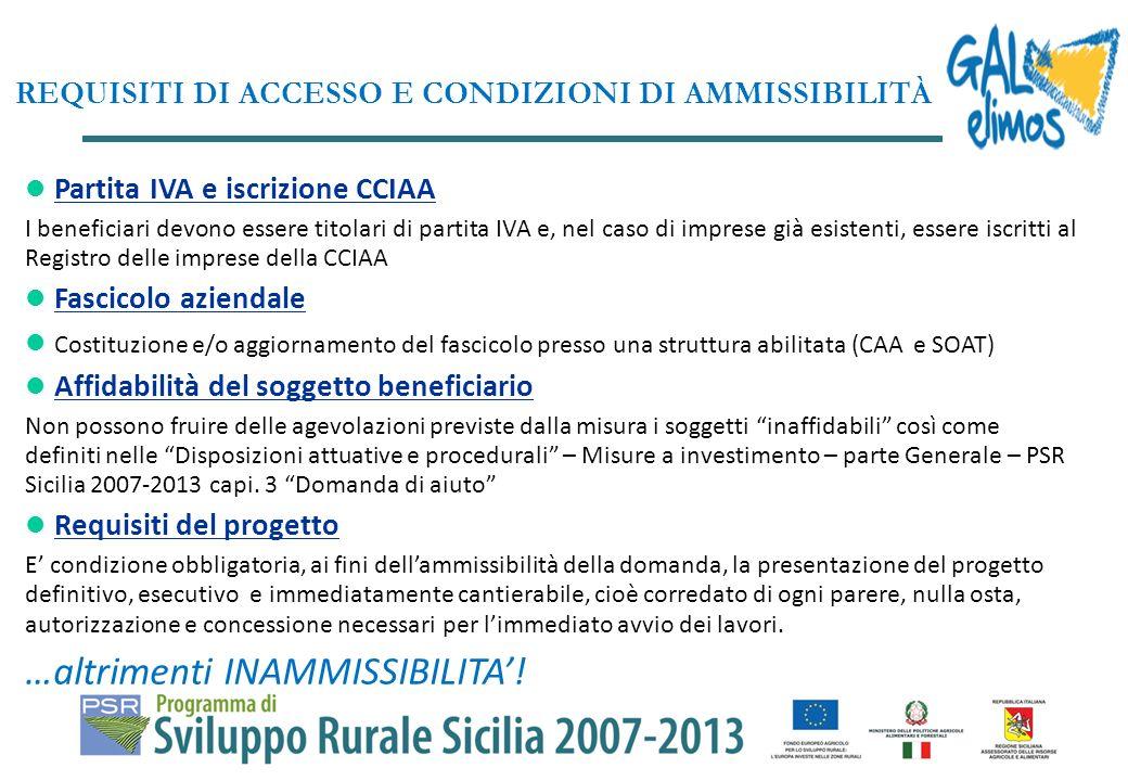 Le microimprese di servizio negli ambiti territoriali della Rete Ecologica Siciliana (RES) saranno finanziate esclusivamente al di fuori delle aree A (centro storico), B (di completamento), C (di espansione) e D (insediamenti produttivi) degli strumenti di pianificazione comunali vigenti.