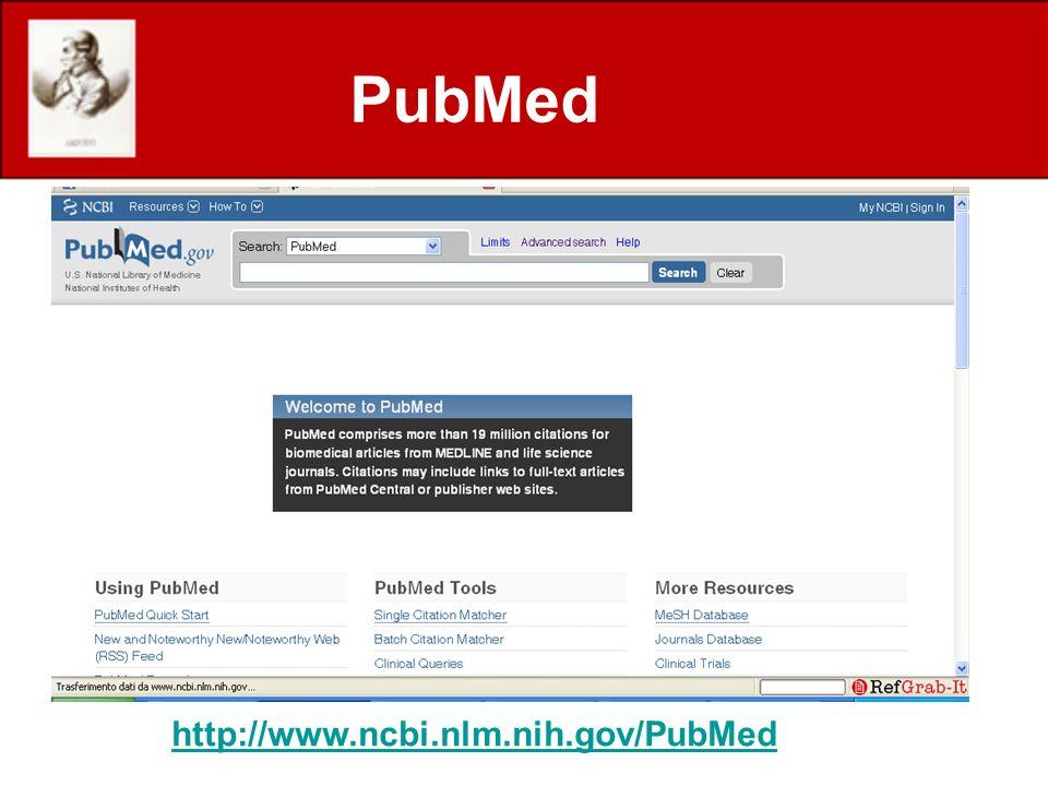 PubMed http://www.ncbi.nlm.nih.gov/PubMed