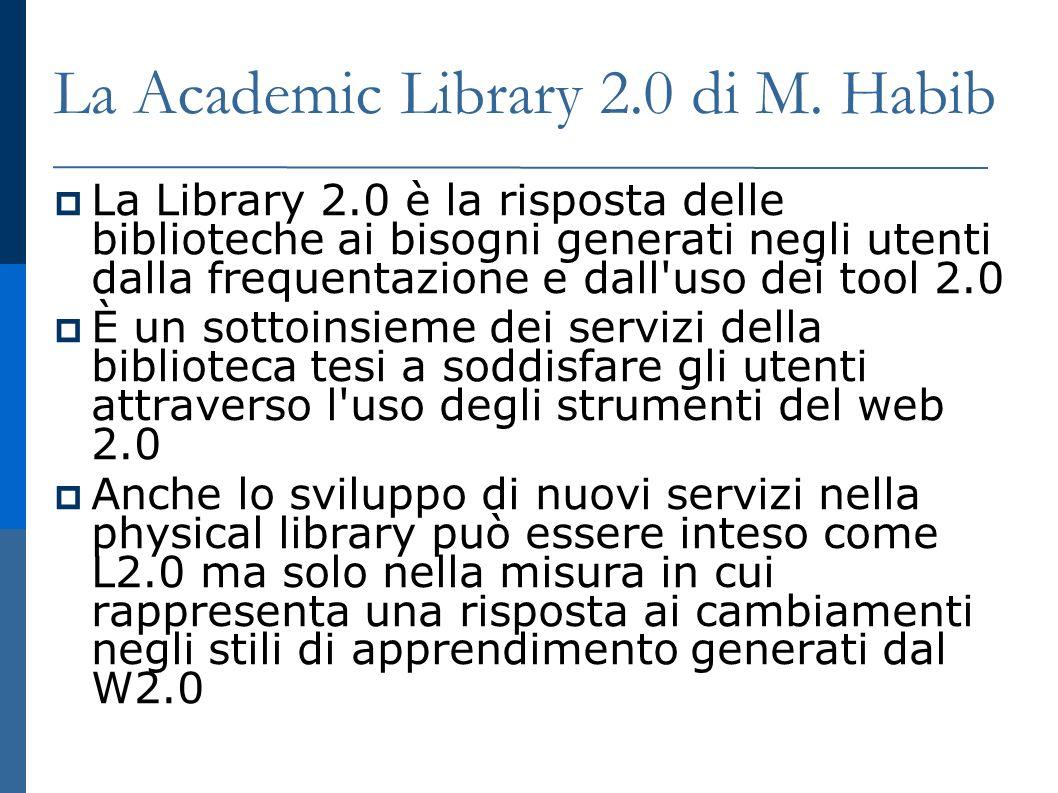 La Academic Library 2.0 di M.