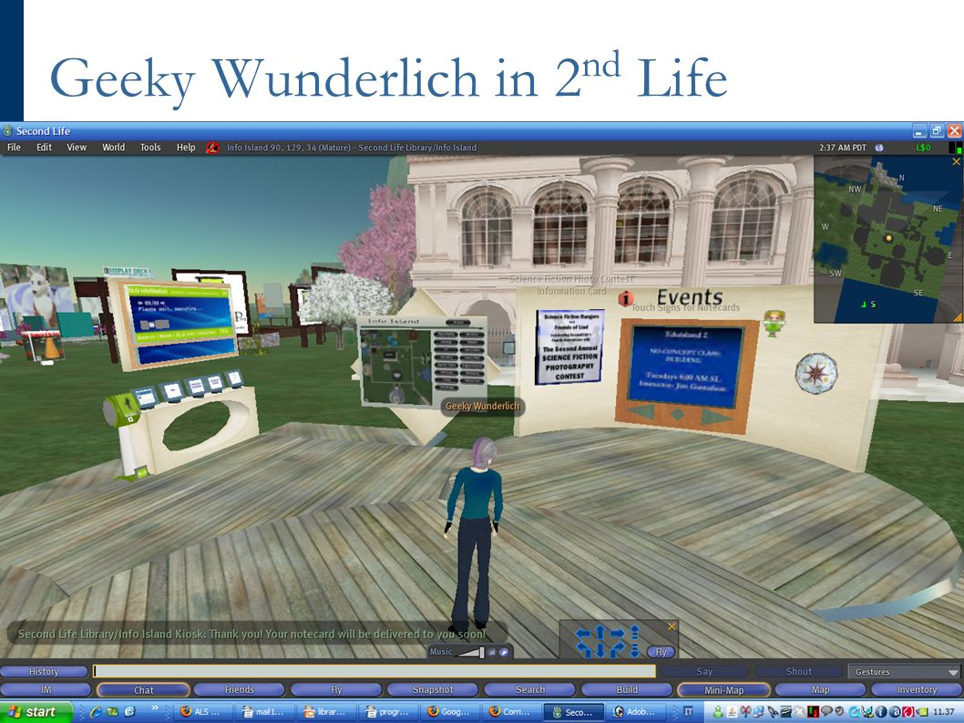 Geeky Wunderlich in 2 nd Life