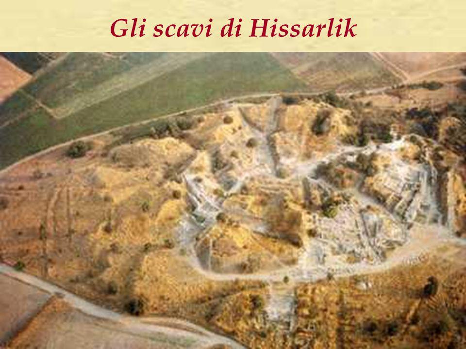 Gli scavi di Hissarlik