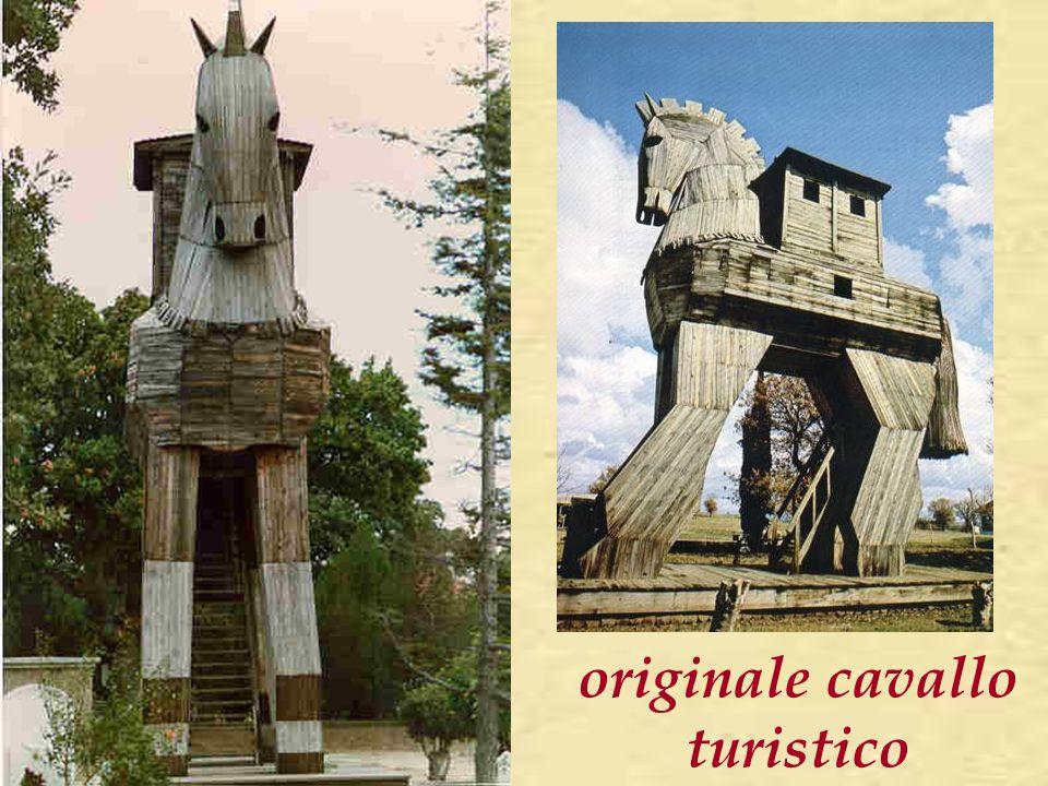 originale cavallo turistico