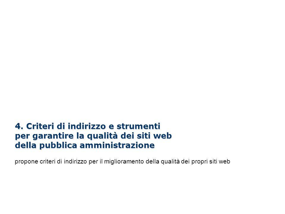 I Webinar di Formez PA – Linee guida per i siti web della PA 4. Criteri di indirizzo e strumenti per garantire la qualità dei siti web della pubblica