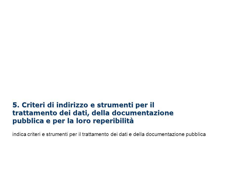 I Webinar di Formez PA – Linee guida per i siti web della PA 5. Criteri di indirizzo e strumenti per il trattamento dei dati, della documentazione pub