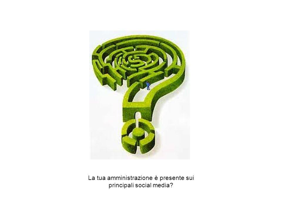 I Webinar di Formez PA – Linee guida per i siti web della PA La tua amministrazione è presente sui principali social media?