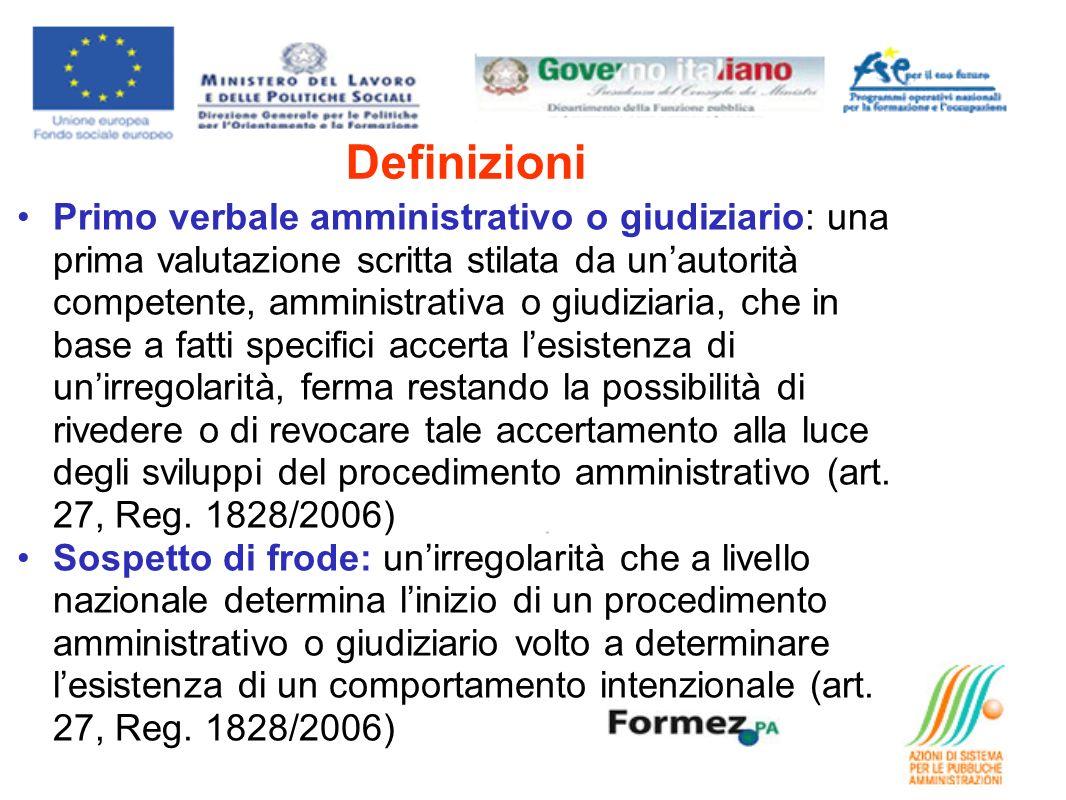 Obbligo di comunicazione (Reg.1828/2006 art.