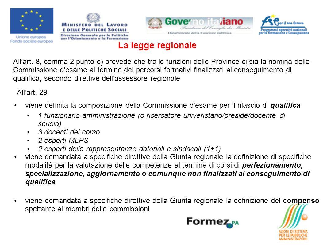 La legge regionale Allart.
