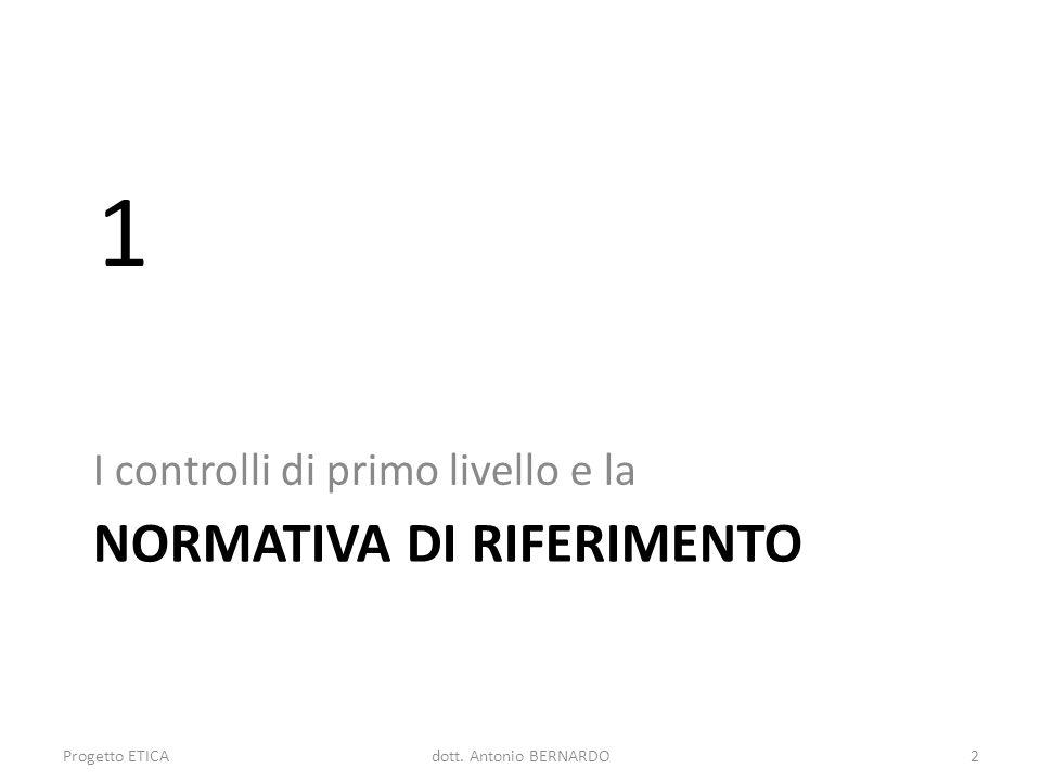 CONTROLLI ED AMMISSIBILITA DELLE SPESE Le verifiche di I livello: focus su 7 Progetto ETICA63dott.