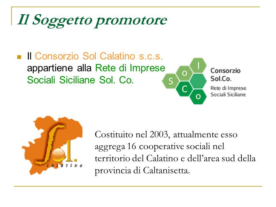 Il Soggetto promotore Il Consorzio Sol Calatino s.c.s.