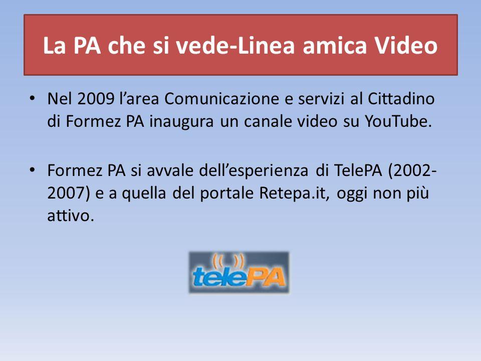 Qualche numero… Canale attivo dal 28 giugno 2009 232.800 visualizzazioni al 6 dicembre 2012 260 iscritti al 6 dicembre 2012