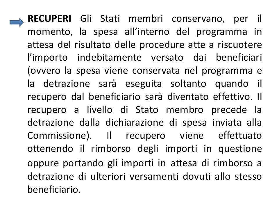 LAdC ha il compito di tenere un resoconto (Art.61, lettera f) Reg CE n.