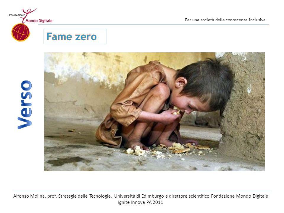 Per una società della conoscenza inclusiva Foto Reuters Alfonso Molina, prof.
