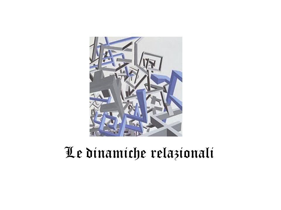 Le dinamiche relazionali
