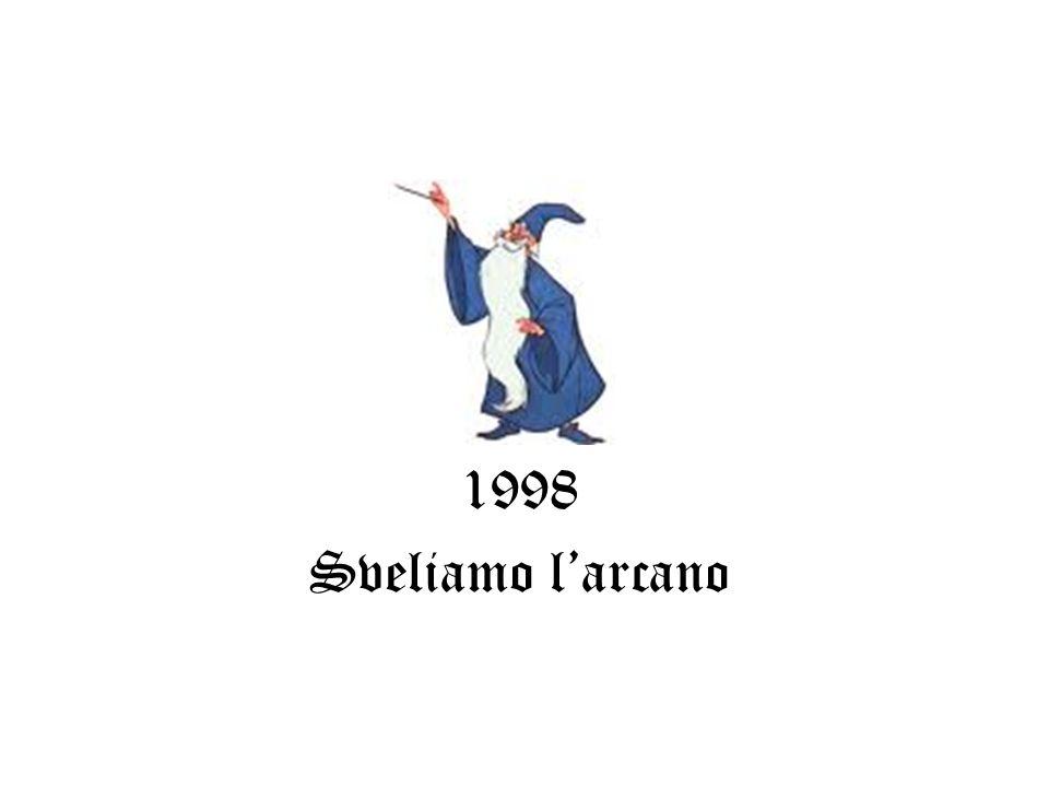 1998 Sveliamo larcano