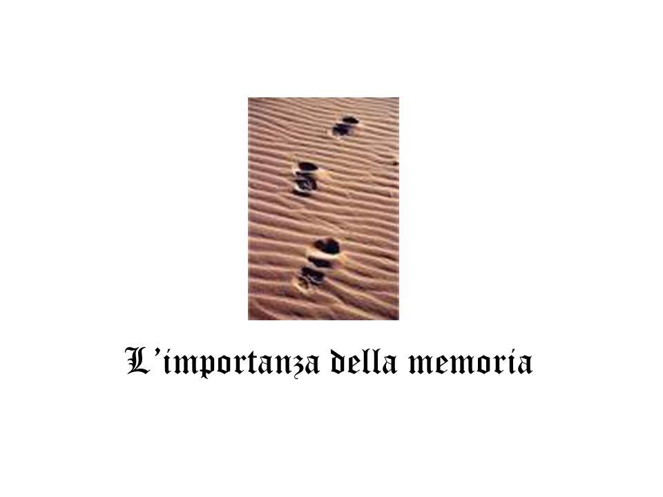 Limportanza della memoria