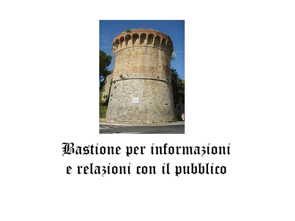 Bastione per informazioni e relazioni con il pubblico