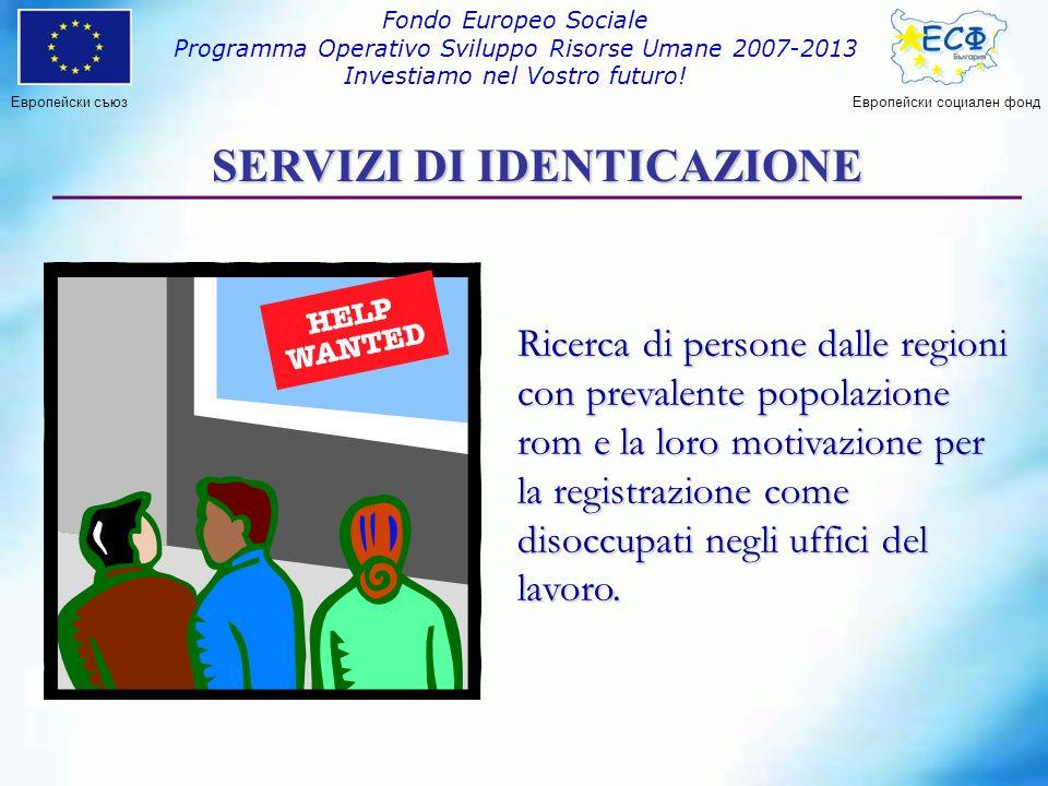 Европейски съюз Fondo Europeo Sociale Programma Operativo Sviluppo Risorse Umane 2007-2013 Investiamo nel Vostro futuro.