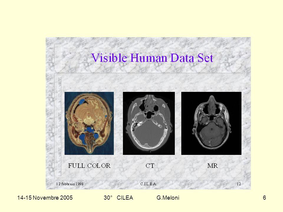 14-15 Novembre 200530° CILEA G.Meloni6